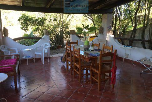 furnished terrace sardinia