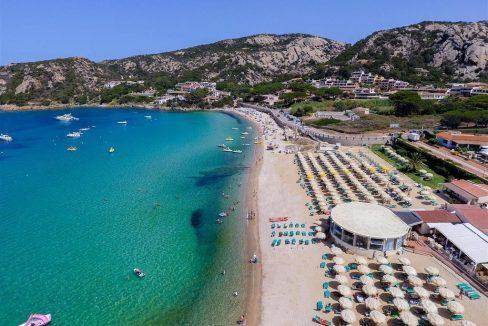 baja sardinia beach